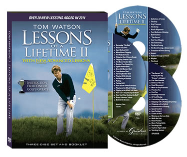 Tom Watson - Lessons of a Lifetime